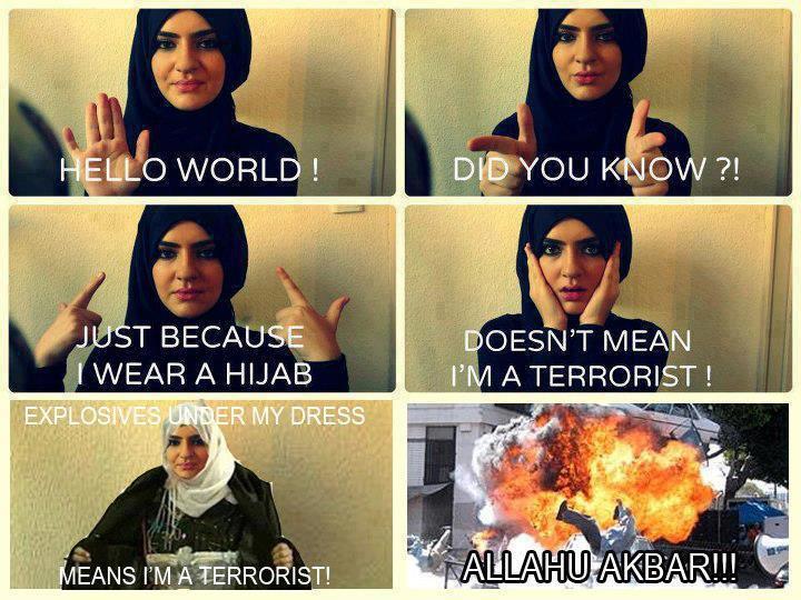ALLAHU AKBAR. . WORLD !. even tho im a Muslim i find this hilarious