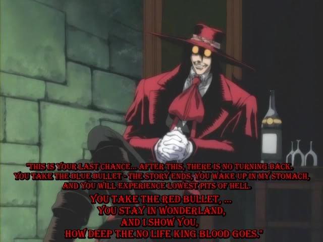 Alucard. . Alucard hellsing morpheus No Life King