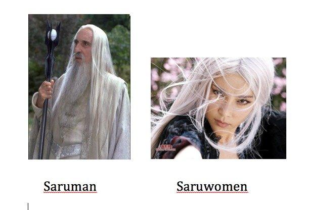 Am I doing this Right?!. . Saruman Oarswomen. fixed saruman LOTR