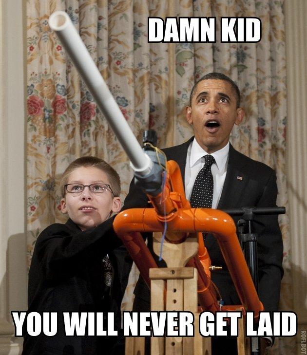 Amazing Obama. . f MI
