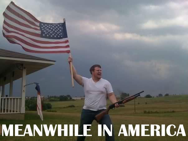 """AMEEERRIICCAAA!!!. . MEAN""""/ HILE IN AMERICA. 'Merica! YEA!"""
