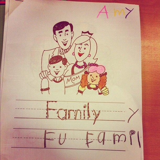 Amy says.... F U family. (Koreans).