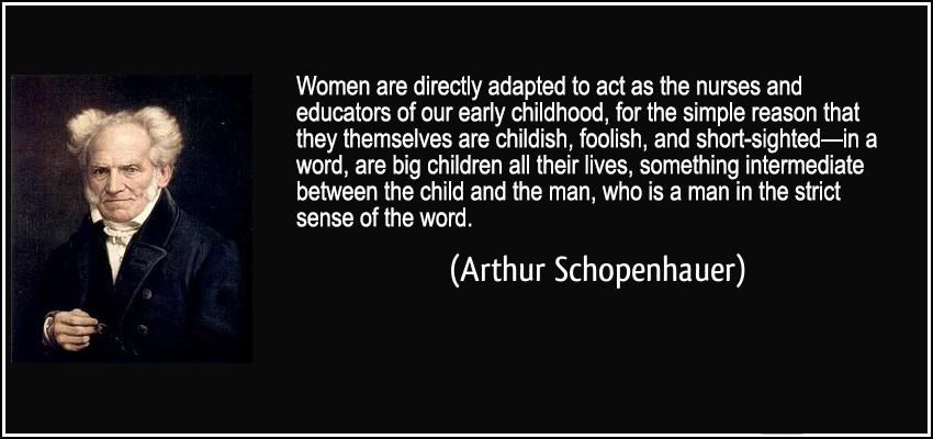 schopenhauer essays on women