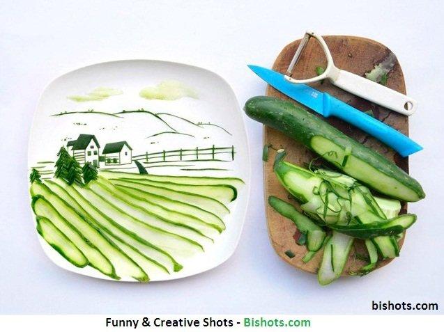 An Amazing Creativity. . Funny & Creative Show -. A new windows knife?