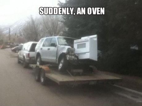 An oven?. . i' iri' iihiko, an um