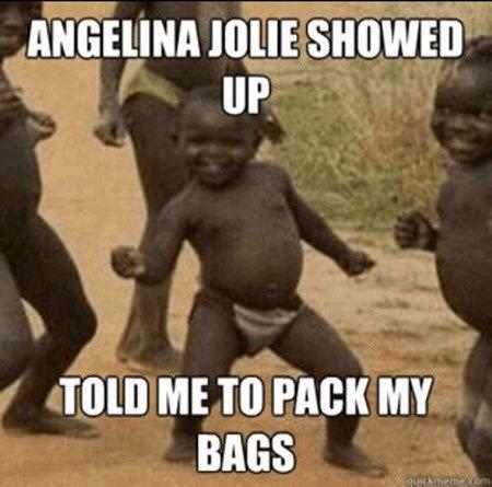 Angelina Jolie. .