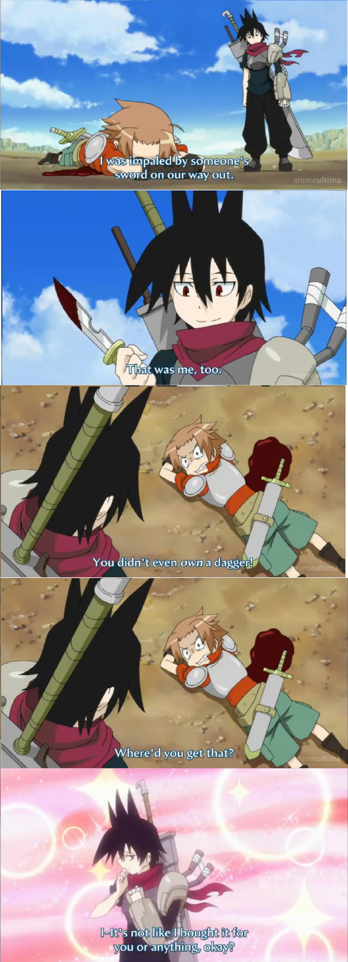 Anime in a nutshell. Senyuu.