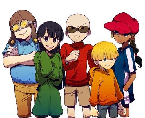 anime next door. somebody remember them.