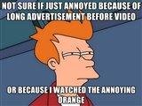 Annoying orange. .. annoying orange is gay