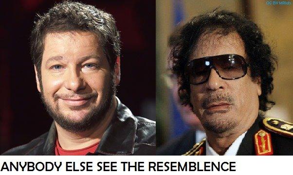 anybody? oc. . gadhafi is dead