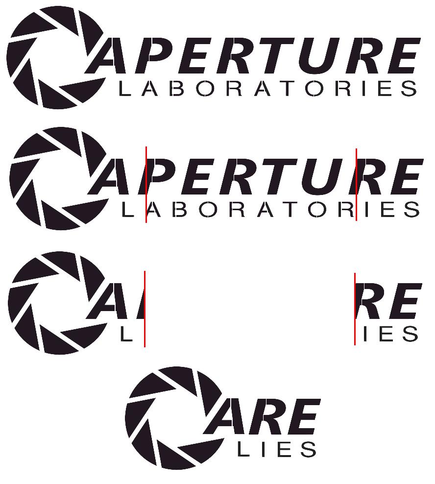 Aperture Laboratories. Based off of: .. Wake up America! aperture laboratories are lies