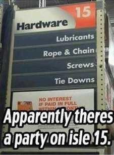"Apparently. .. inb4 ""rape aisle"""