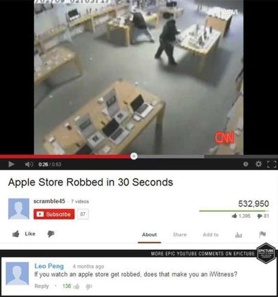 Apple pun. . ADDIE SMITH Irinia' atrii.. EN 30 H you mar an apple more get clues that make gnu an Witness'?