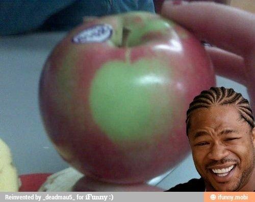 Apples. I love . Jk I hate them