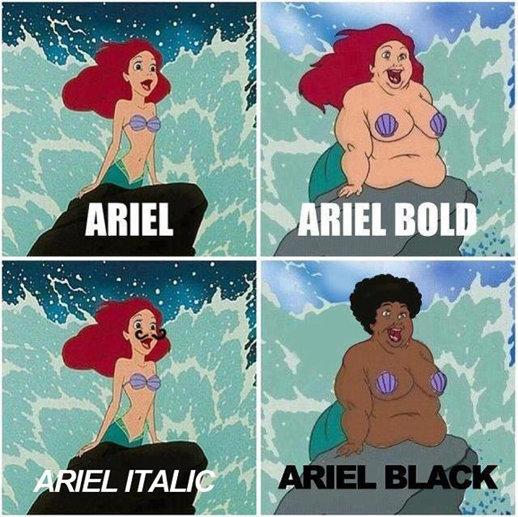 Ariel in real life. Not OC.. Ariel Narrow.