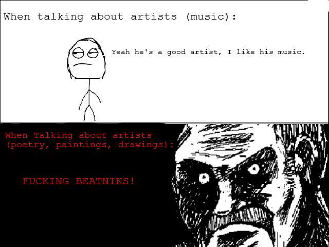 Artists. Am I right? OC..