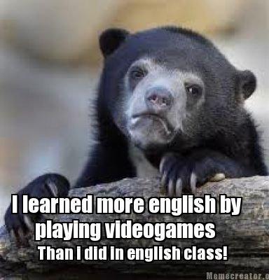 As a norwegian. True story!. I learned more '; tthumb - b Than I lloll ht class!. I remember having Runsecape teach me english since I was like 8.