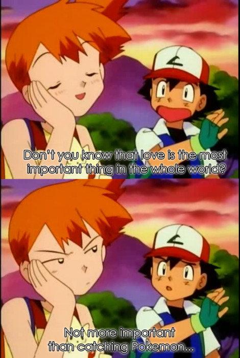 Ash has his priorities in order.. . Earl dipset.. LIES!