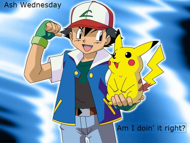 Ash Wednesday. .