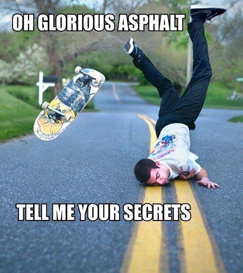 asphalt. . stems