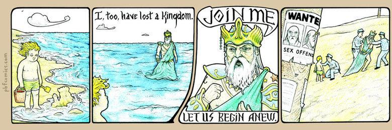 Atlantis. .. Poseidon's salty butthole.
