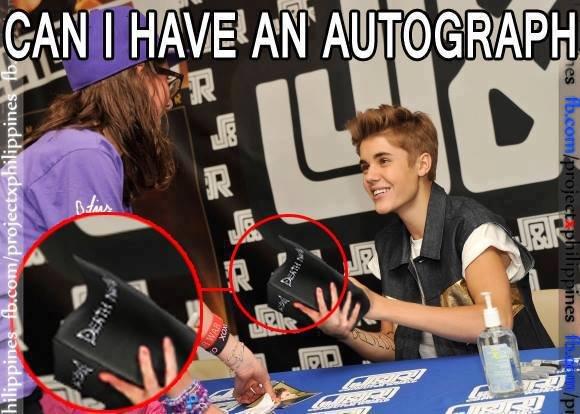 Autograph?. I wouldn't........ If repost, just keep scrolling.. retrochris rolls 66,666 quints and it works h u r r d u r r