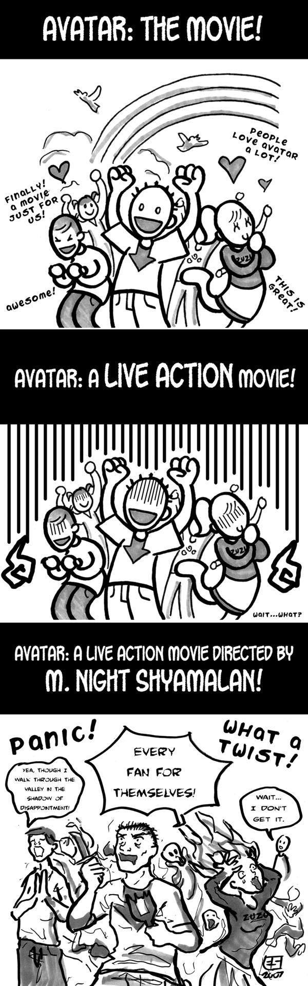 Avatar The Movie. Found it on Deviantart, thanks to the author. avatar Movie shayallama