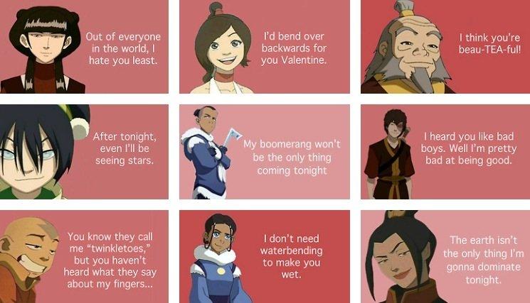 Avatar valentine cards. .. yesssssssssssssssssssssssssssss