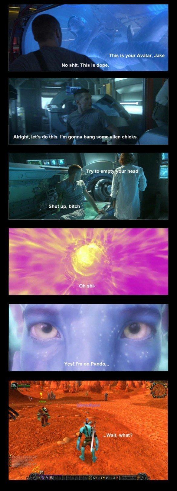 Avatar. .. she trolled him hard