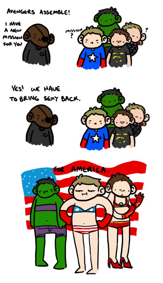 Avengers Assemble!. check tags.