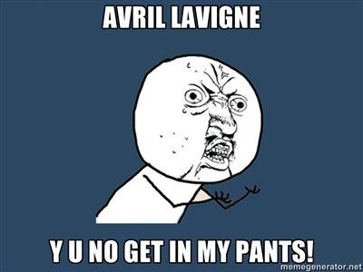 Avril Lavigne. .