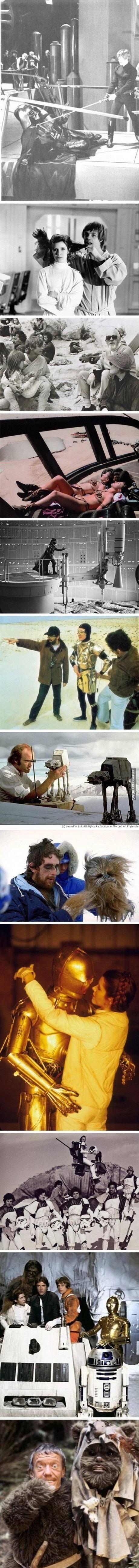 Awesome Star Wars photos. beep boop.