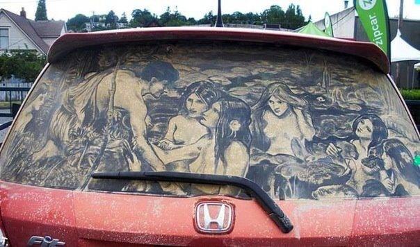Awesome art. .. Nice taste in art