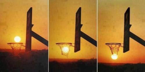 Awesome Basketsun. .. Swish!