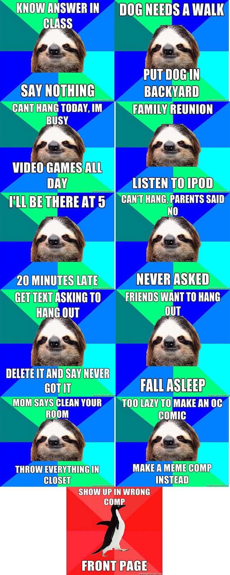 "Awkward Sloth comp. . WW ANSWER lillie Mtl NEWS A WAN cant manta TODAY. iii"" mam maisie""""""""""""'' miimii' ' All In BE mm; aij"" iii''"""" nuns. PARENTS GET TENT ASKI"