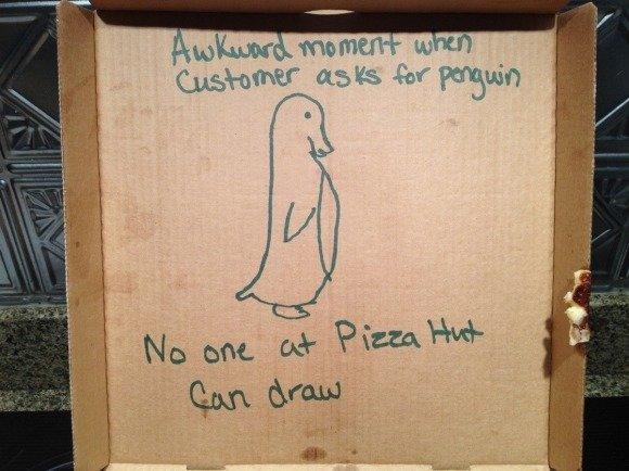 awkward pizza. .