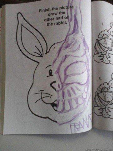 Awwww, rabbit!. .