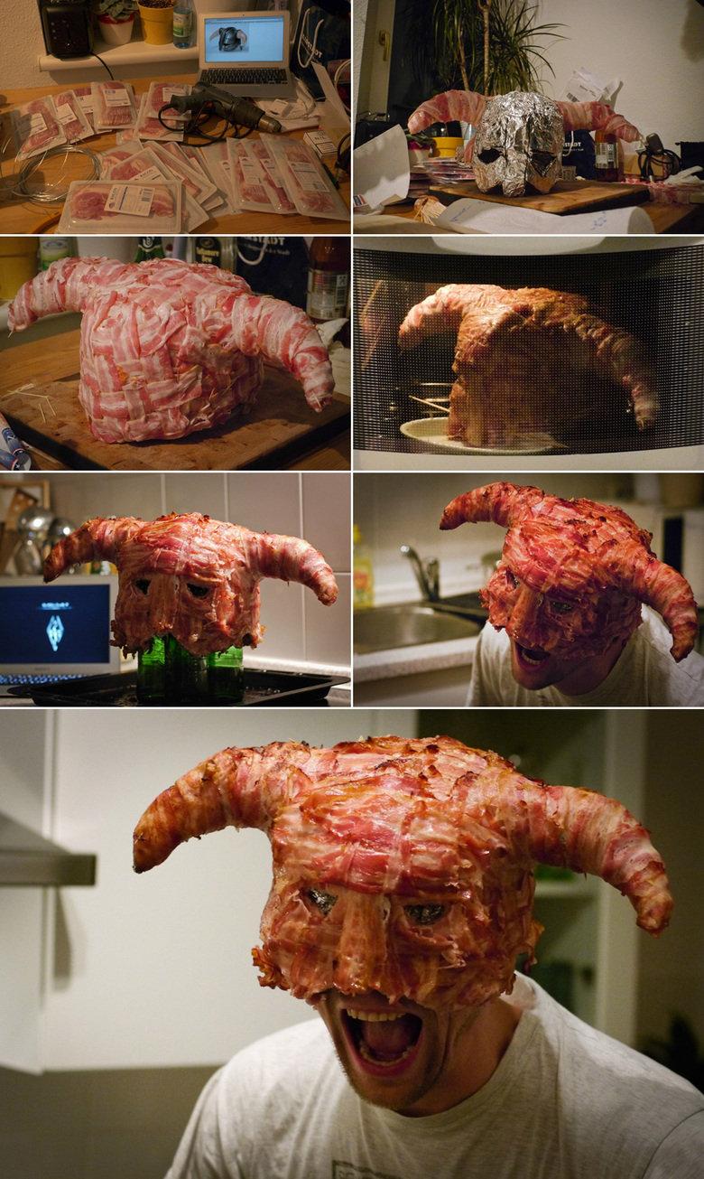 Bacon Plus Skyrim Equals. .