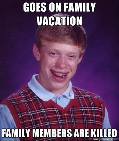 Bad Luck Brian. Toooo funny.