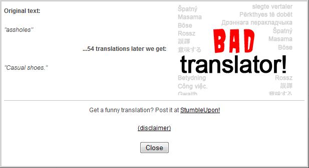 Bad Translator. Casual Shoes you say?. bad translator casual Shoes