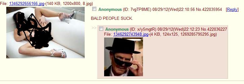 bald people do not suck. <>_<>. walter white breaking bad niggers
