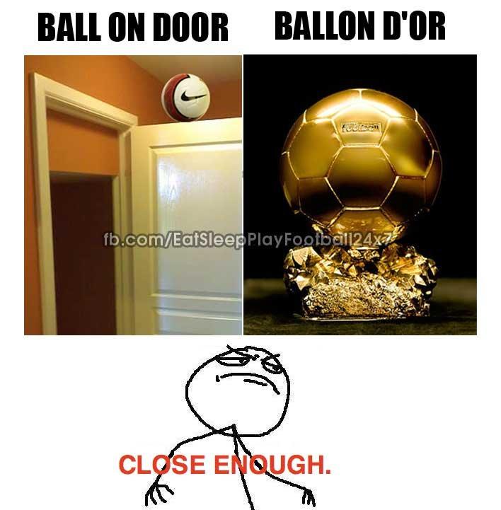 Ball on Door Vs Ballon d'or. Ball on Door Vs Ballon d'or.