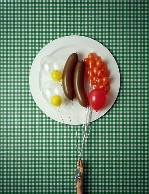 Balloon Breakfast!. . attr. Illgal. VIII. cf III l Huh Inn VIII! mris. Mrer, Ballon breakfast