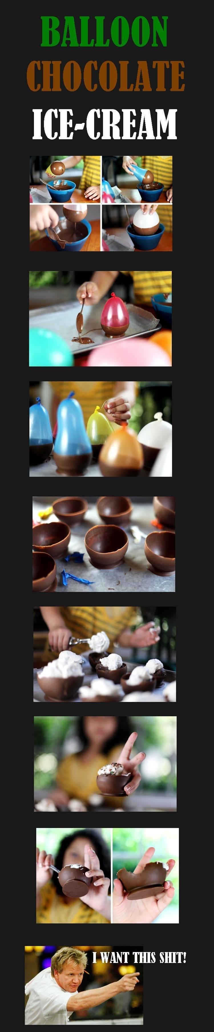 Balloon Chocolate Icecream. Uploaded by fungusamongus. ICESCREAM. Probably smells like latex.