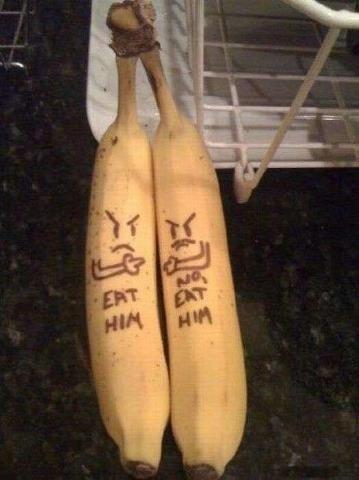 Banana fight. .. Banana thread?