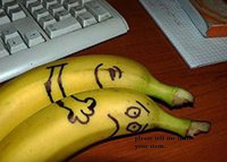 Член в кожуру от банана 9 фотография