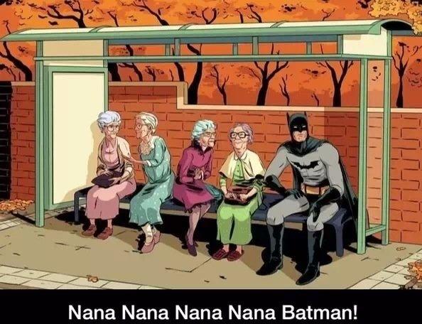 Batman in the 60s. . Nana Nana Nana Nana Batman!