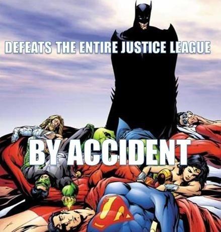 Batman Is Best Super Hero. .