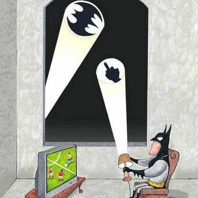 batman's day off. .. Followed by the batdick