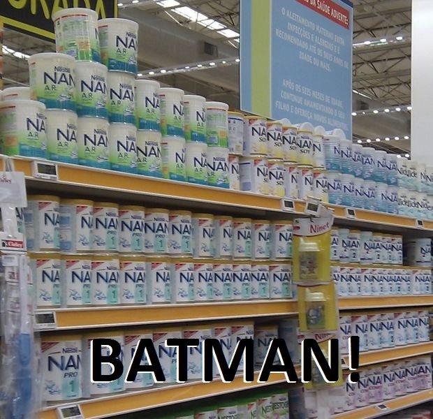 BATMAN. .. NANANANANANANANA DENDE!